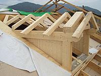 Abbaino in legno bilama preparati in kit